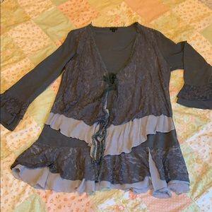 Long sleeved tunic
